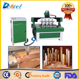 Dekcel 1325 CNC Router Engraving Round Wooden Material Machine pictures & photos