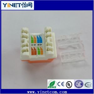 CAT6 UTP RJ45 Keystone Jack Female Connector Factory Wholesale pictures & photos