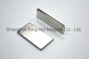 Block Shape Neodymium Magnet for Sensor (N42SH)