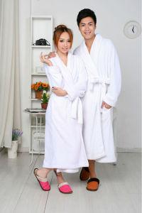 100% Cotton Couple Bathrobe and Hotel Bathrobe Model No CB101701