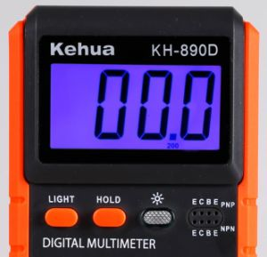 High Quality AC Voltage and Resistance Digital Multimeter pictures & photos