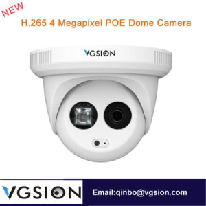 H. 265 4 Megapixel Poe Dome Camera 3.6 mm Lens WDR Function and Human Face Detection Function IP Camera