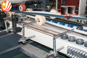 Automatic Corrugated Folder Gluer Stitcher ---Jhxdx-2800 pictures & photos
