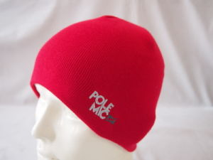 100% acrylic Knitted Beanie with Embroidery pictures & photos