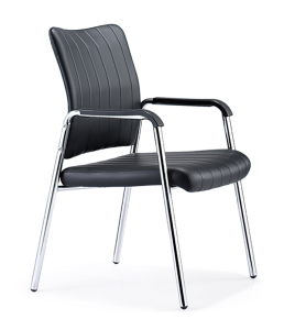 Round Meta Tube 4 Leg Steel Conference Meeting Chair (HX-6C036) pictures & photos