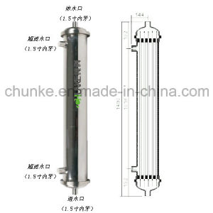 "Chunke Stainless Steel 8"" RO Membrane Housing Vessel pictures & photos"