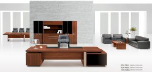 L Shape Office Table Executive Office Desk Foh-P3521 pictures & photos
