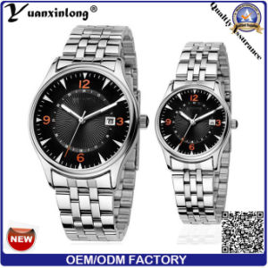 Yxl-337 New Arrival Quartz Watch Japan Movt Stainless Steel Band Calendar Couple Watches Promotion Luxury Ladies Watch pictures & photos