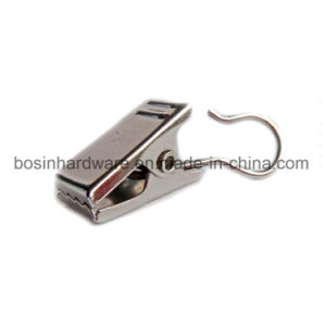 Silver Iron Metal Curtain Hook Clip for Track pictures & photos