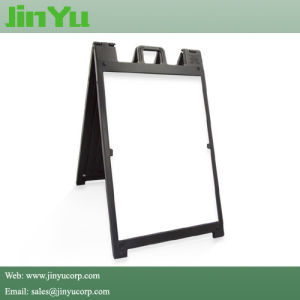 Sidewalk Plastic a-Frame Sandwich Board Sign Holder pictures & photos