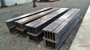 Hot Rolled Metal Structural H Beam Ss400 H Beam pictures & photos