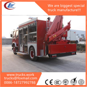 LHD Ftr Isuzu 6000L Water Fire Truck Specific Showing pictures & photos