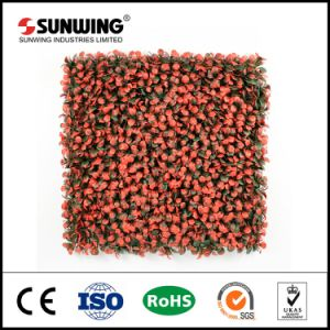 Special Design Orange Artificial Boxwood Grass Mat for Garden Hedge pictures & photos