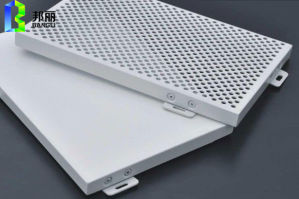 Punched Aluminum Panel Construction Material with Multi Shaped Holes pictures & photos