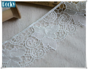 6cm Guipure Lace White Craft DIY Accessories Lace Fancy Trim