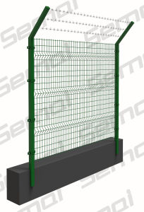 Cheap PVC Coated Welded Wire Mesh Fence for Sale pictures & photos