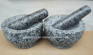 SGS Approved Marble Mortars and Pestle Factory pictures & photos
