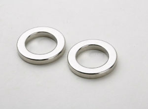 Custom Shaped High Temperature N40sh Nickel Plated Permanent Neodymium Magnets pictures & photos