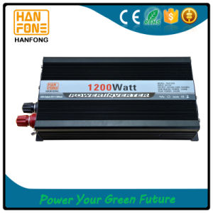 Good Price Home Solar System High Frequency Power Inverter 1200W pictures & photos