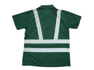 New Style Hi Vis 100% Poloyester Green Man T-Shirt pictures & photos