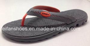 Men EVA Slippers Softable Sandals Beach Flip Flop (FFMXD0217-01) pictures & photos