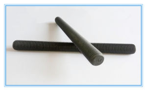 Black Low Carbon Steel Thread Rod pictures & photos