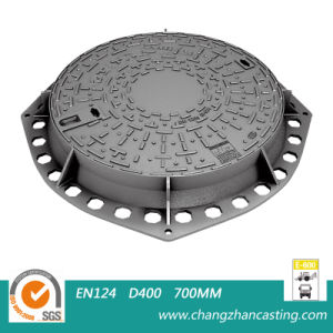 Heavy Duty E600 Ductile Iron Manhole Covers pictures & photos