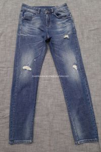 Soft Cotton Men Jeans in Light Wash (HS-284017) pictures & photos