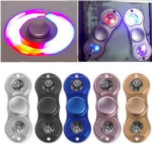 LED Hand Spinner, Aluminum Alloy Fidget Finger Spinner pictures & photos