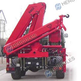 8 Tons Knuckle Boom Truck Mounted Crane (SQ8ZA3) pictures & photos