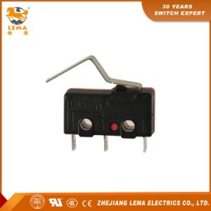 Lema 5A Black and Red Kw12-3 Micro Switch pictures & photos