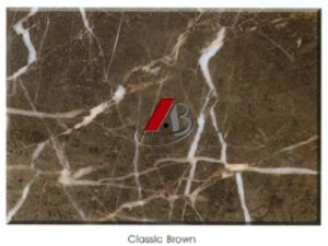 Chinese Classic Brown Marble Tiles and Slabs pictures & photos