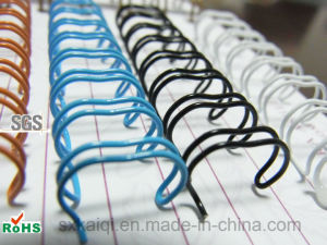 Nylon Coated Double Loop Wire for Binding pictures & photos