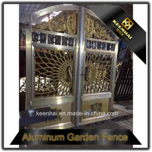 New Design Cast Aluminum Gate Models pictures & photos