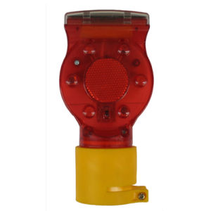 High Brightness Solar LED Flashing Warning Light for Traffic Cones pictures & photos