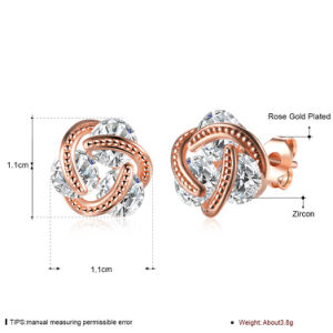 Fashion Zircon Women Earrings Made in Yiwuzhejiang pictures & photos