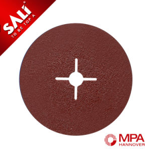 Sali Calcined Alumina Abrasive Fiber Disc for Metal Polishing pictures & photos
