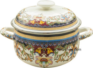 Enamel Happiness Pot for Daily Use pictures & photos