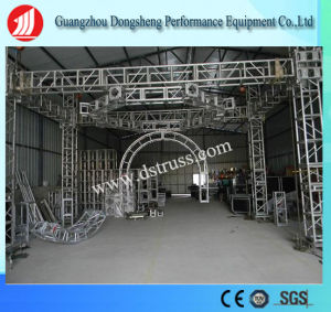 Screw Lighting Aluminum Square Performance Wedding Party Stage Round Circle Truss pictures & photos