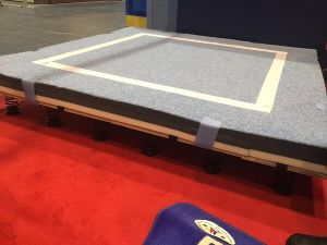 Competition Gymnastic Free Exercise Field From China Supplier pictures & photos