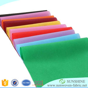 Any Size Printed Width Water Resistant PP Spunbond Nonwoven Fabric pictures & photos