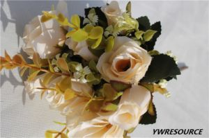 Whole Year Decoration Wholesale Artificial Flower Bouquet pictures & photos