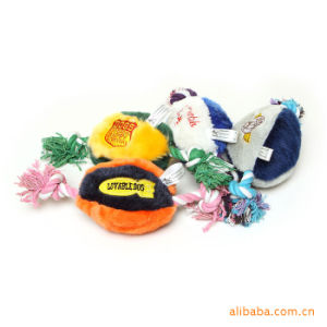 Eco-Friendly Customized Chew Plush Stuffed String Pet Ball Toys pictures & photos