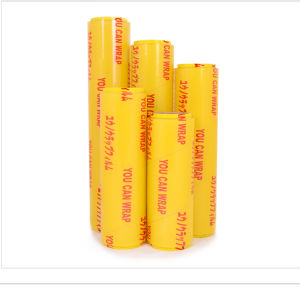 FDA Approved Food Grade PE / PVC Plastic Wrap Cling Film pictures & photos