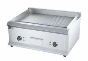 Factory Made Stainless Steel Electric Hamburger Griddle with Good Quality pictures & photos
