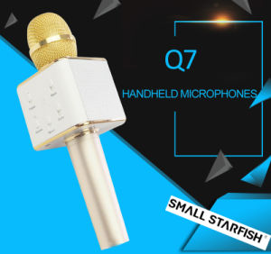Professional Bluetooth Wireless Q7 Microphone pictures & photos