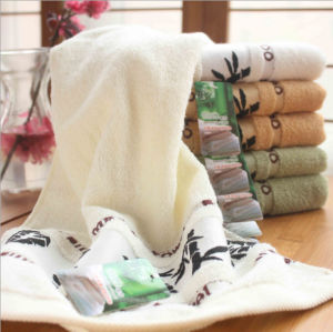 Wholesale Luxury Embroidery Bamboo Baby Bath Towel pictures & photos