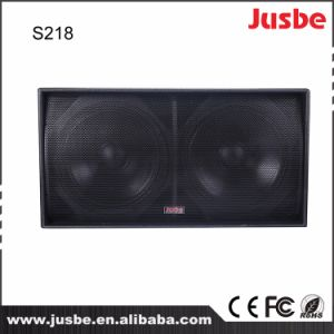 Stage Sound Equipment S218 Dual 18 Speaker Subwoofer pictures & photos