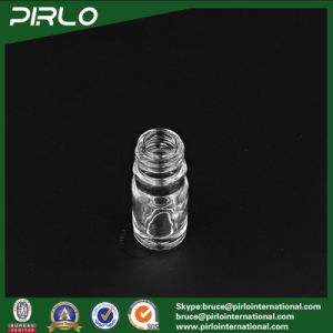 5ml 0.17oz Essential Oil Use Glass Material Empty Bottle with Metal Screw Cap pictures & photos