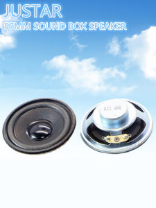 57mm 4-32ohm 1-4W Foam-Edge Speaker with RoHS pictures & photos
